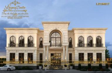 Dinh thự 2 tầng hoành tráng bậc nhất mặt tiền 22m quyền lực tại Lâm Đông LD190317