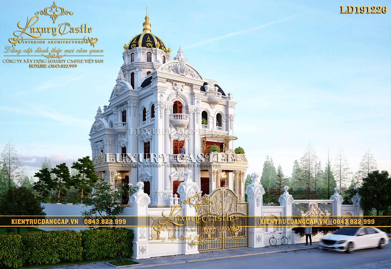 Hồ sơ thiết kế lâu đài tân cổ điển đẳng cấp tại Sài Thành Ld191226