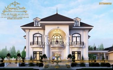 Tips 20+ mẫu nhà quốc dân 2 tầng đẹp hoàn mỹ, ai cũng mê đắm