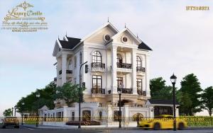 Ngỡ ngàng trước vẻ đẹp hoàn mỹ của biệt thự 3 tầng tại ngã tư đường lớn Hà Tĩnh BT210321