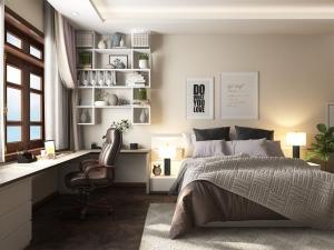 Thiết kế nội thất biệt thự hiện đại 3 phòng ngủ đẹp