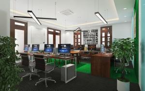Mẫu thiết kế nội thất văn phòng hiện đại đẹp nhất 2020