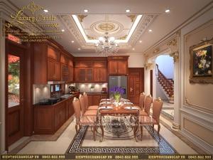 Mãn nhãn với mẫu nội thất biệt thự tân cổ điển hoành tráng gia đình anh Hạnh - Thái Bình