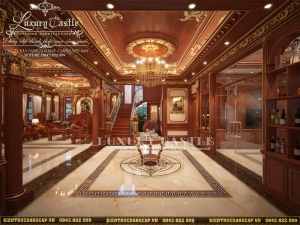 Ấn tượng với vẻ quý phái hoàn mỹ của mẫu nội thất biệt thự cổ điển đẹp tại Hà Nội