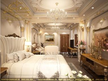 Khám phá cuộc sống vương giả quý tộc với mẫu nội thất phòng ngủ hoàng gia cao cấp anh Tuấn - Hà Nội