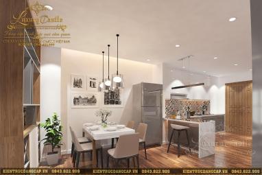Thiết kế nội thất chung cư 3 phòng ngủ cao cấp tại Hà Nội