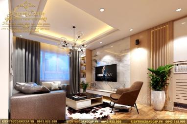Thiết kế nội thất chung cư 3 phòng ngủ Palm Heights tại Quận 2 - tp. Hồ Chí Minh