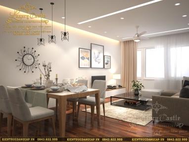 Mẫu thiết kế nội thất chung cư 3 phòng ngủ đẹp phong cách hiện đại hoàn mỹ