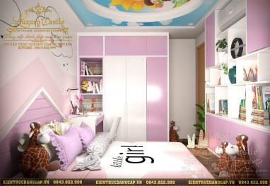 Mẫu nội thất chung cư 2 phòng ngủ đẹp tại Thanh Hà Cienco 5 hiện đại tinh tế