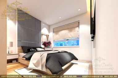 Nội thất phòng ngủ chung cư hiện đại