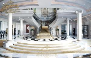 Vẻ đẹp trường kỳ của mẫu nội thất dinh thự kinh điển tại Nha Trang