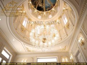 mẫu nội thất lâu đài mái vòm cổ điển hoàng gia quý tộc