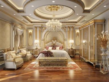 Choáng ngợp trước vẻ đẹp lộng lẫy mẫu nội thất lâu đài hoàng gia quý tộc tại Yên Bái