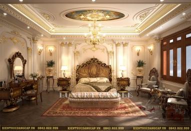 04 Phong cách nội thất phòng ngủ tân cổ điển biệt thự classic hoàng gia