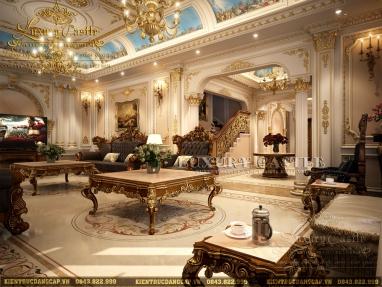 Nội thất dinh thự cổ điển classic xứng tầm đẳng cấp thượng lưu