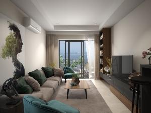 Thiết kế nội thất chung cư phong cách hiện đại phong thủy