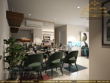 Mẫu nội thất phòng bếp ăn hiện đại đạt chuẩn phong thủy, siêu đẹp, siêu tiết kiệm 2021