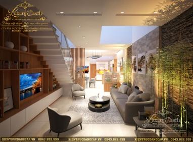 TIPs ý tưởng bố trí phòng khách liên thông phòng bếp ăn độc đáo nhất 2020