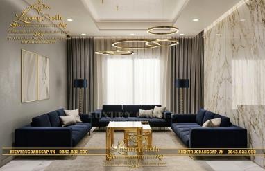 Không gian nội thất phòng khách hiện đại, cá tính nâng tầm giá trị cuộc sống gia đình