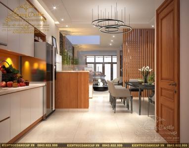 Tiêu chuẩn cần thiết để có một ngôi nhà phố với nội thất sang trọng hoành tráng