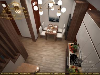 Cải tạo nội thất nhà ống hiện đại 3 tầng đẹp tại Hà Nội