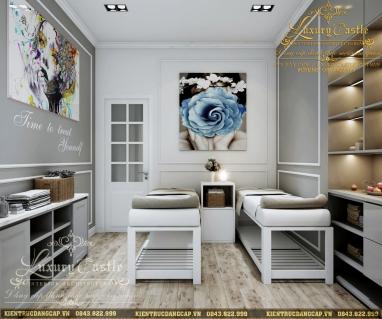 Thiết kế nội thất Spa Luxury Vĩnh Phúc hiện đại mang dấu ấn riêng biệt
