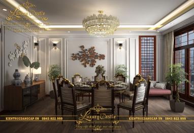 Thiết kế nội thất nhà hàng Trung Hoa hoàn mỹ ấn tượng độc đáo với khách hàng