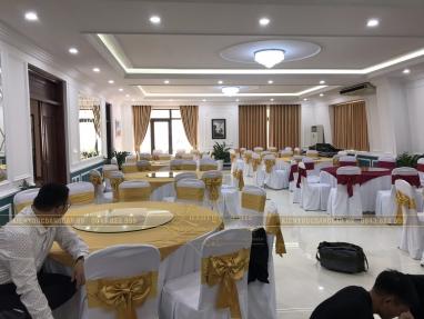 Xuất sắc công trình nội thất phòng ăn BCT đã thi công hoàn thiện
